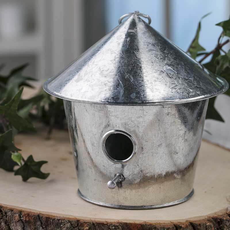 Best Galvanized Metal Birdhouse Ornament Table Decor Home Decor This Month