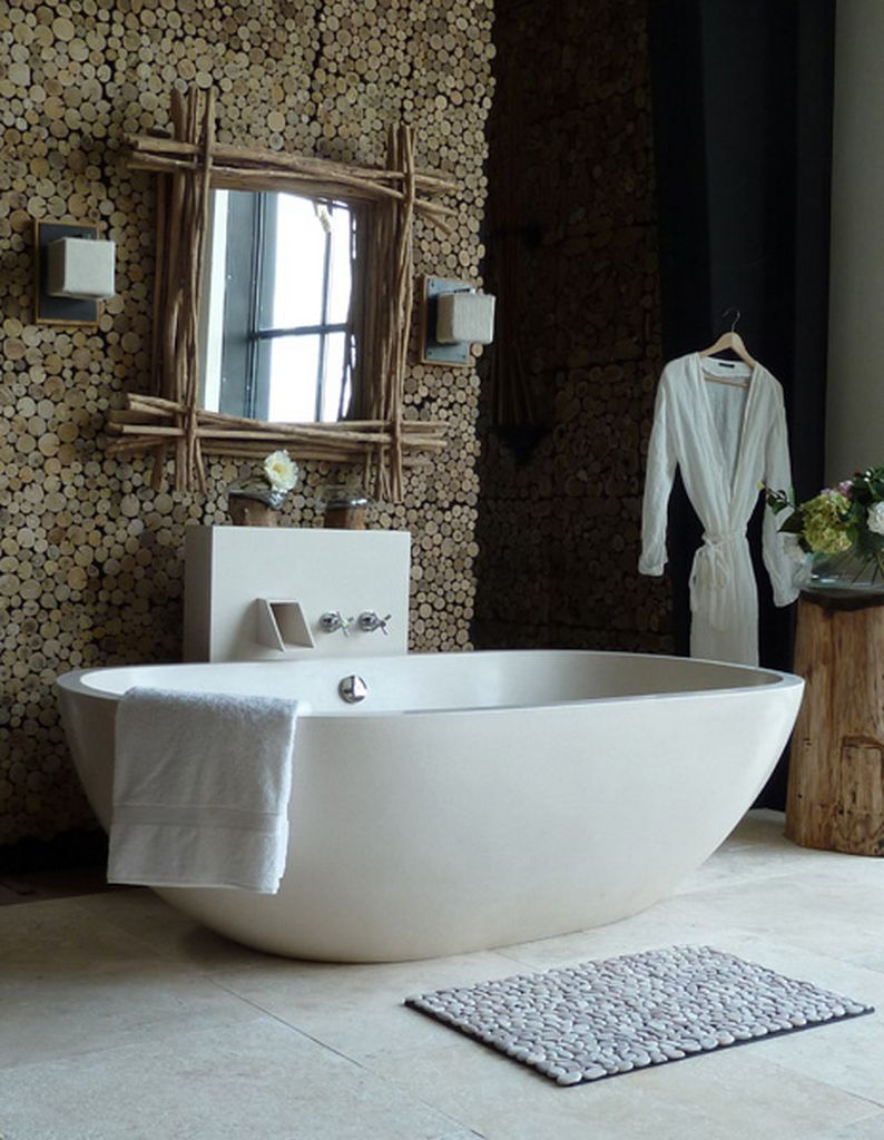 Best 35 Beautiful Bathroom Decorating Ideas This Month