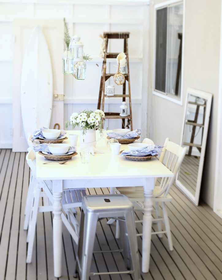 Best 35 Beach Style Dining Room Design This Month