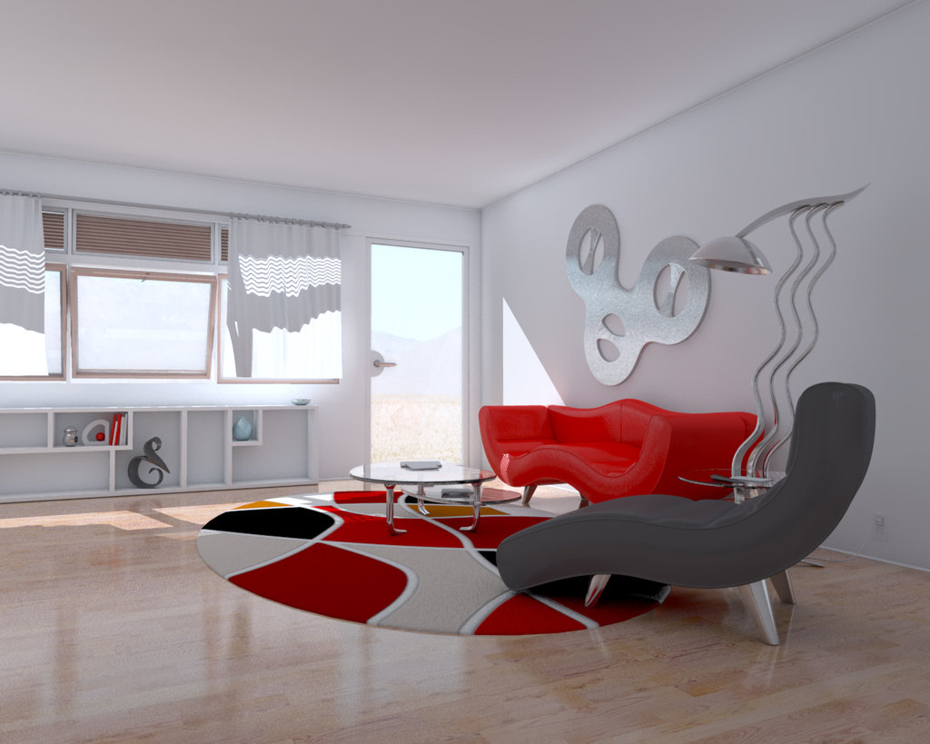 Best 28 Red And White Living Rooms This Month