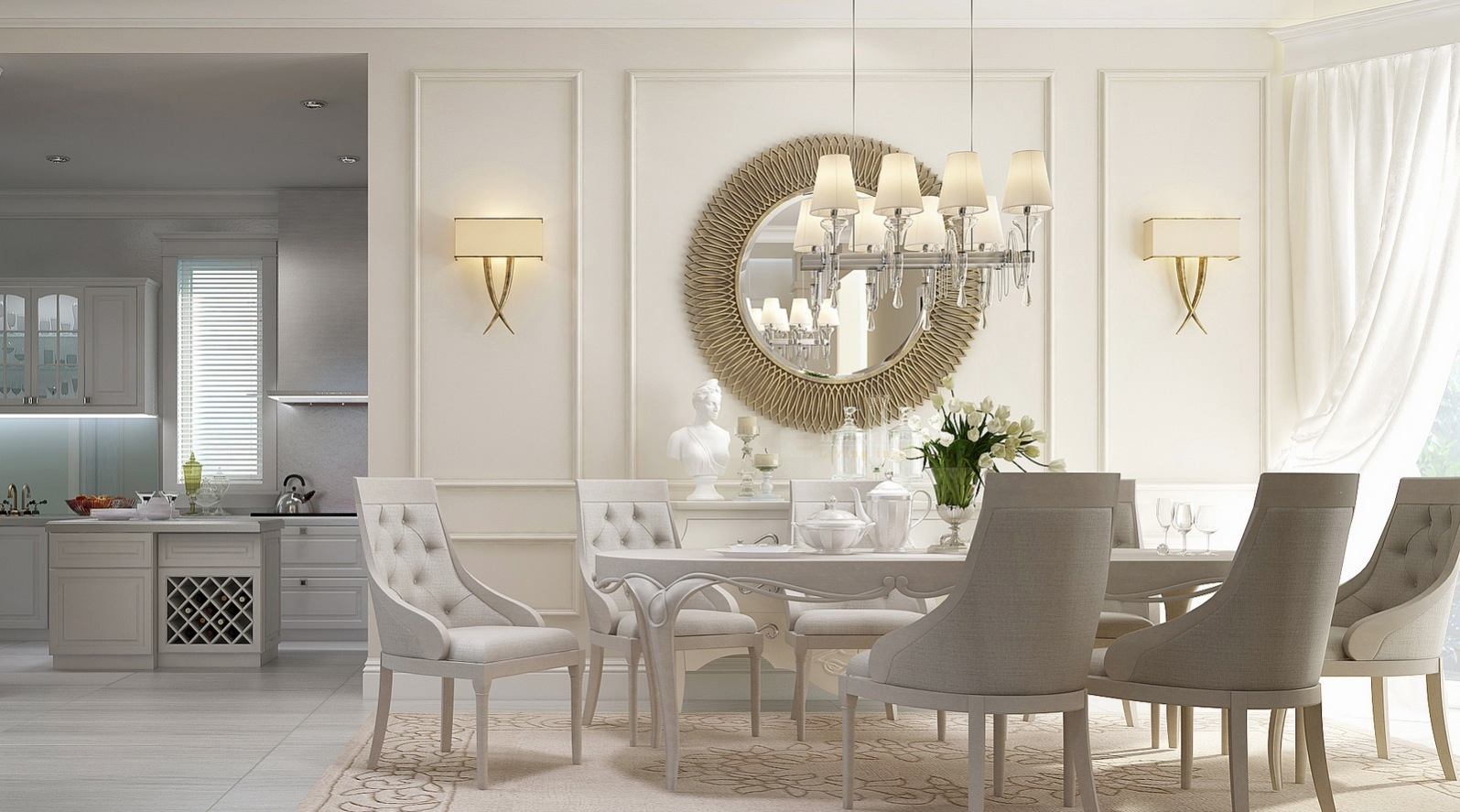 Best 20 Dining Rooms Visualized This Month