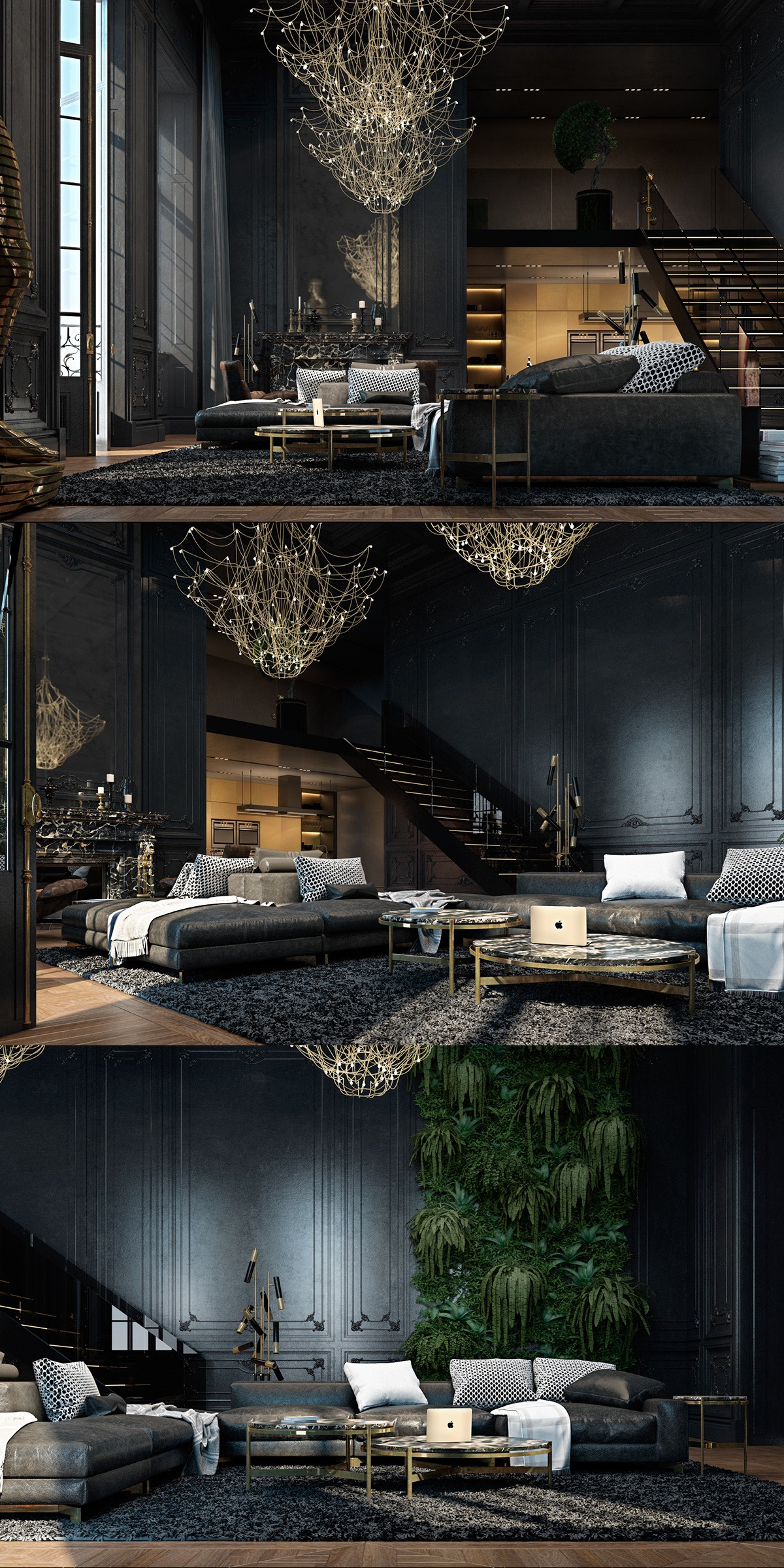 Best Black Living Rooms Ideas Inspiration This Month