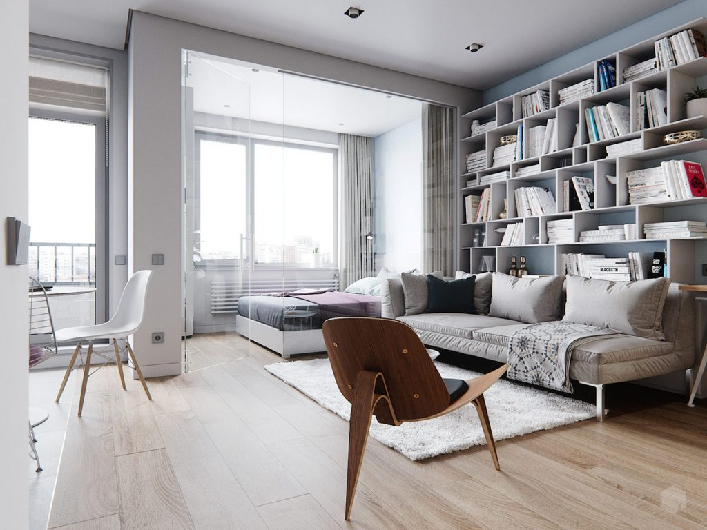 Best 3 Small Space Apartment Interiors Under 50 Square Meters This Month
