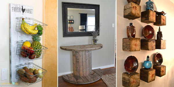 Best 50 Rustic Diy Home Decor Projects This Month