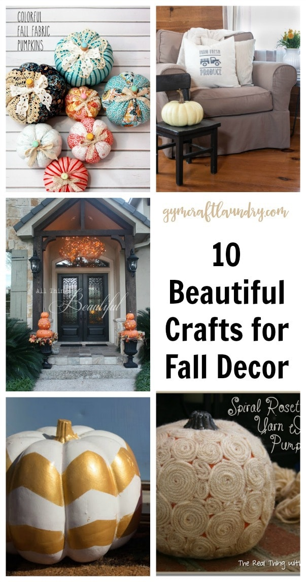 Best Arts And Crafts For Fall Decor This Month