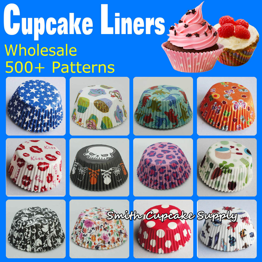 Best Wholesale 600 Pcs Assorted 12 Styles Cupcake Decorations This Month