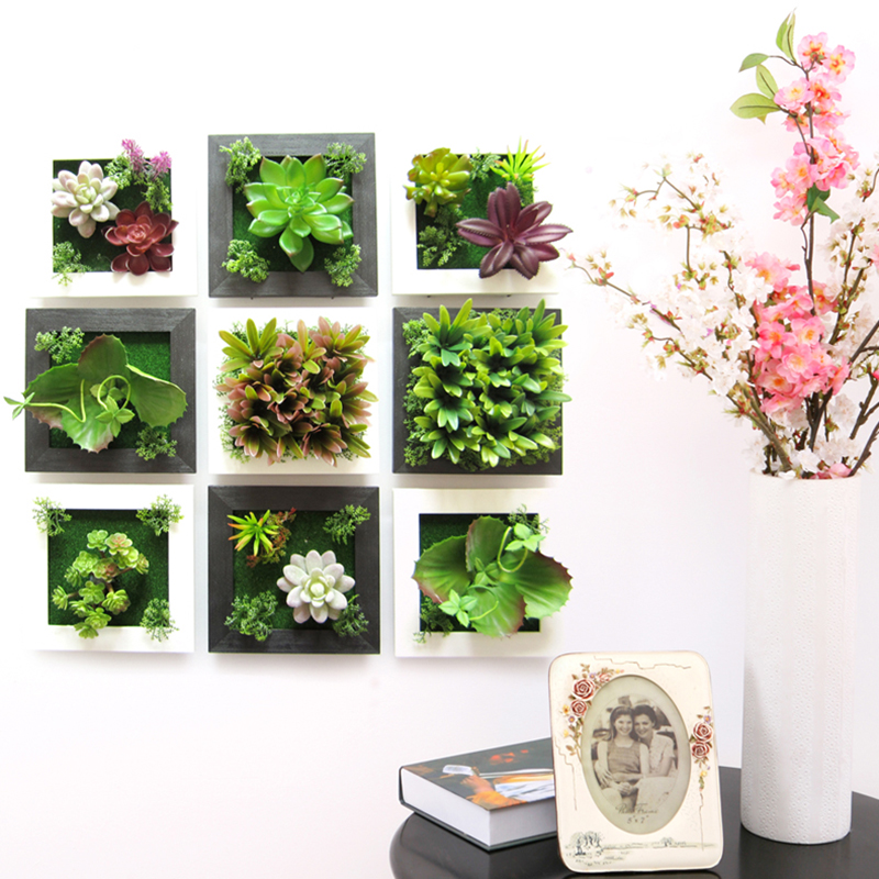 Best 3D Plant Wall Sticker Home Decor Wall Artificial Flowers This Month