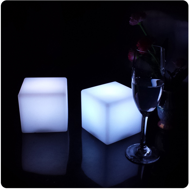 Best Aliexpress Com Buy 10Cm Cube Decorative Battery Operated This Month