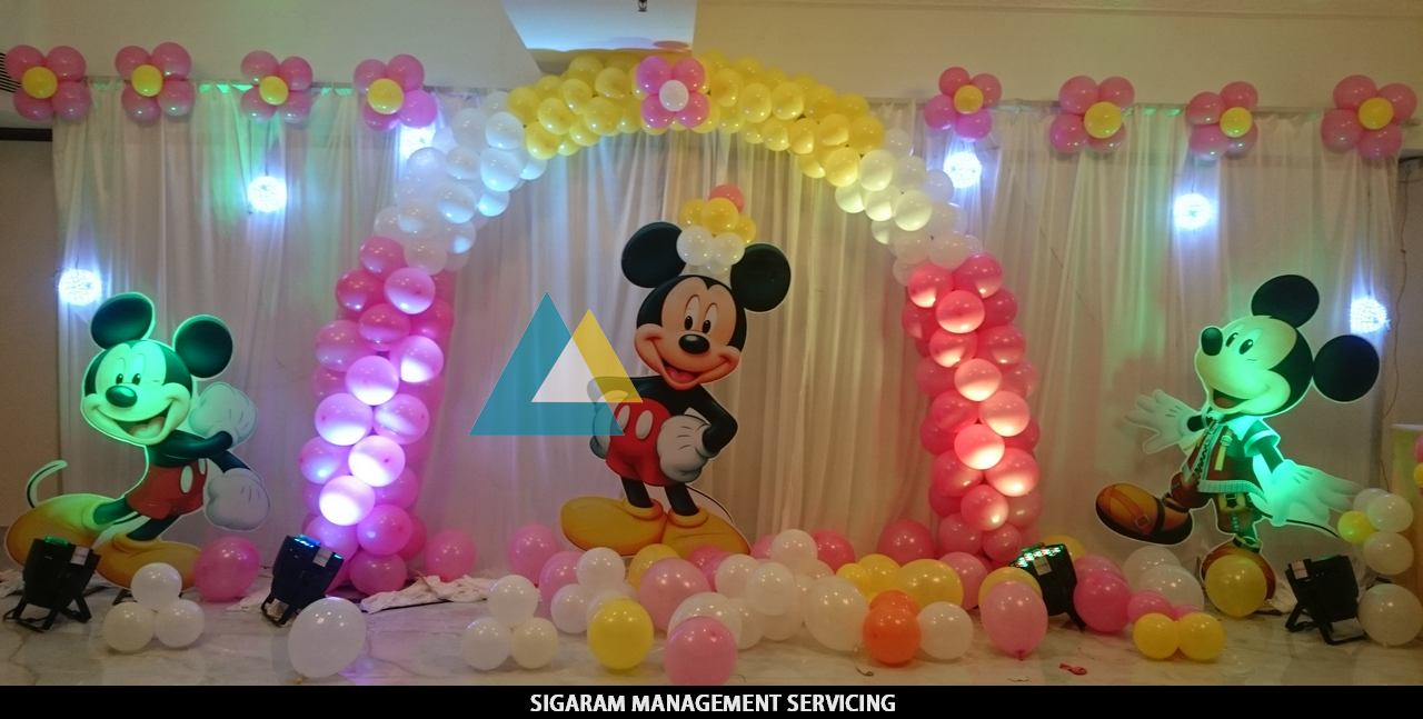 Best Birthday Party Decorators In Pondicherry Chennai This Month