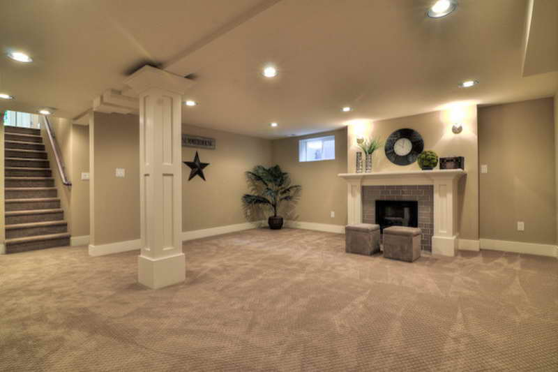 Best 21 Beautiful Traditional Basement Designs This Month