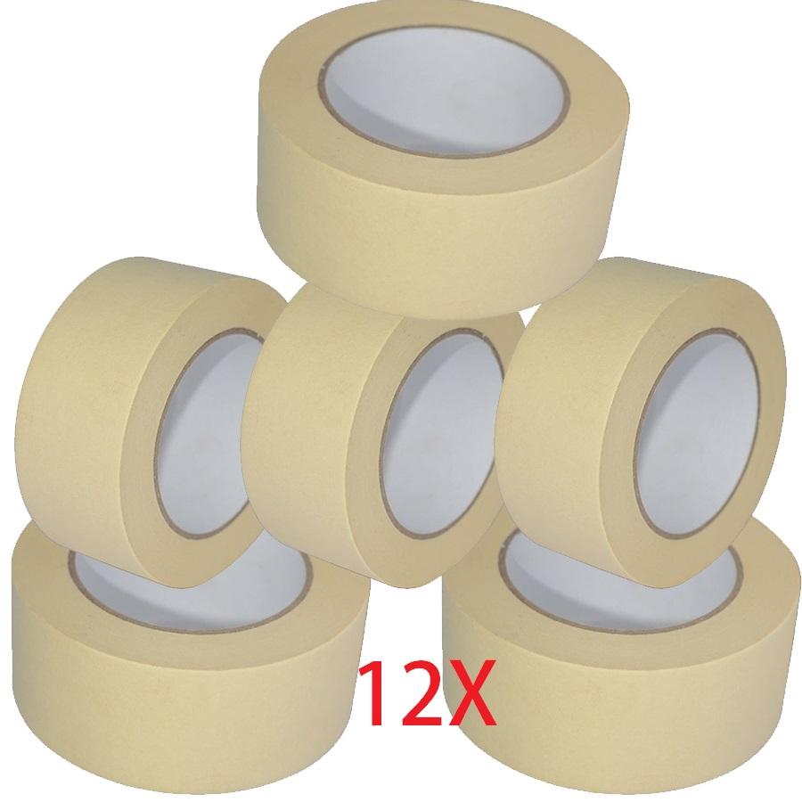 Best 12X Masking Tape 50Mm X50M Easy Tear Decorating Painting This Month