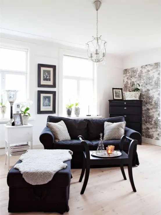Best Rustic Scandinavian House In Black And White Digsdigs This Month
