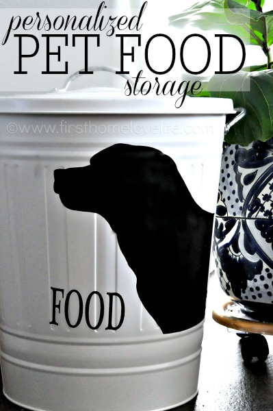 Best Personalized Pet Food Storage First Home Love Life This Month