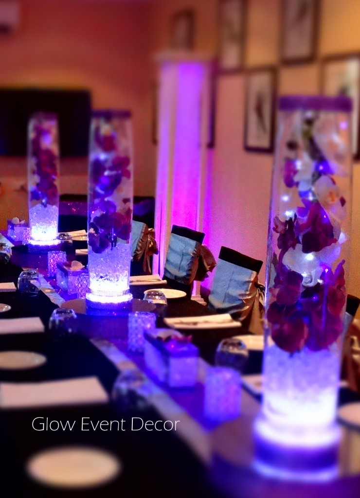 Best Led Orchid Cylinder Vase Glow Event Decor This Month