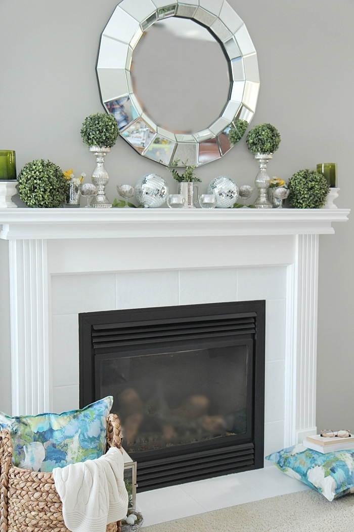 Best Spring Mantel Decorating Ideas Setting For Four This Month