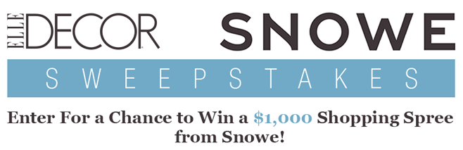 Best Elledecor Com Snowehome Win A 1 000 Shopping Spree From This Month