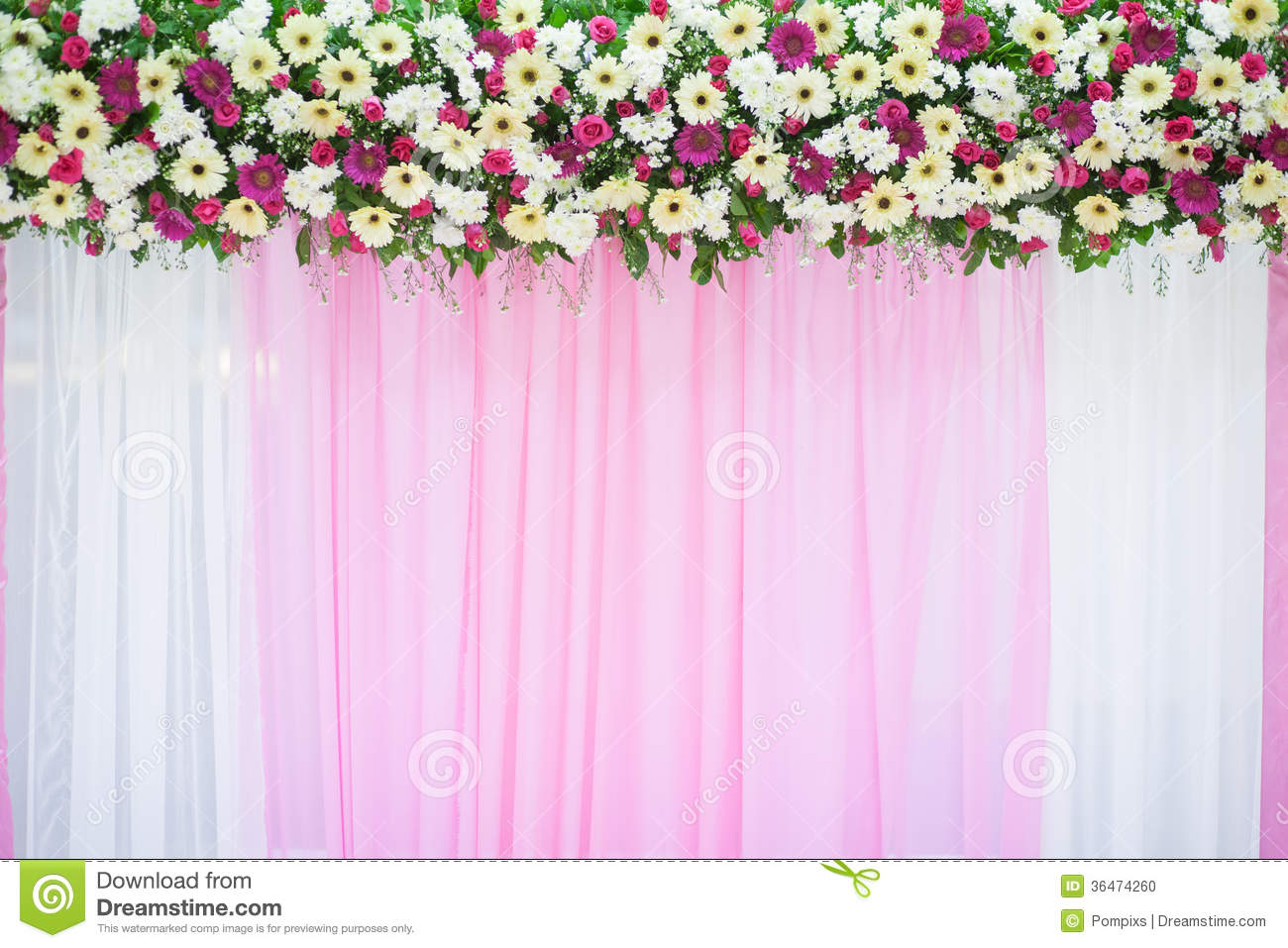 Best Beautiful Flower Wedding Decoration Stock Photo Image This Month