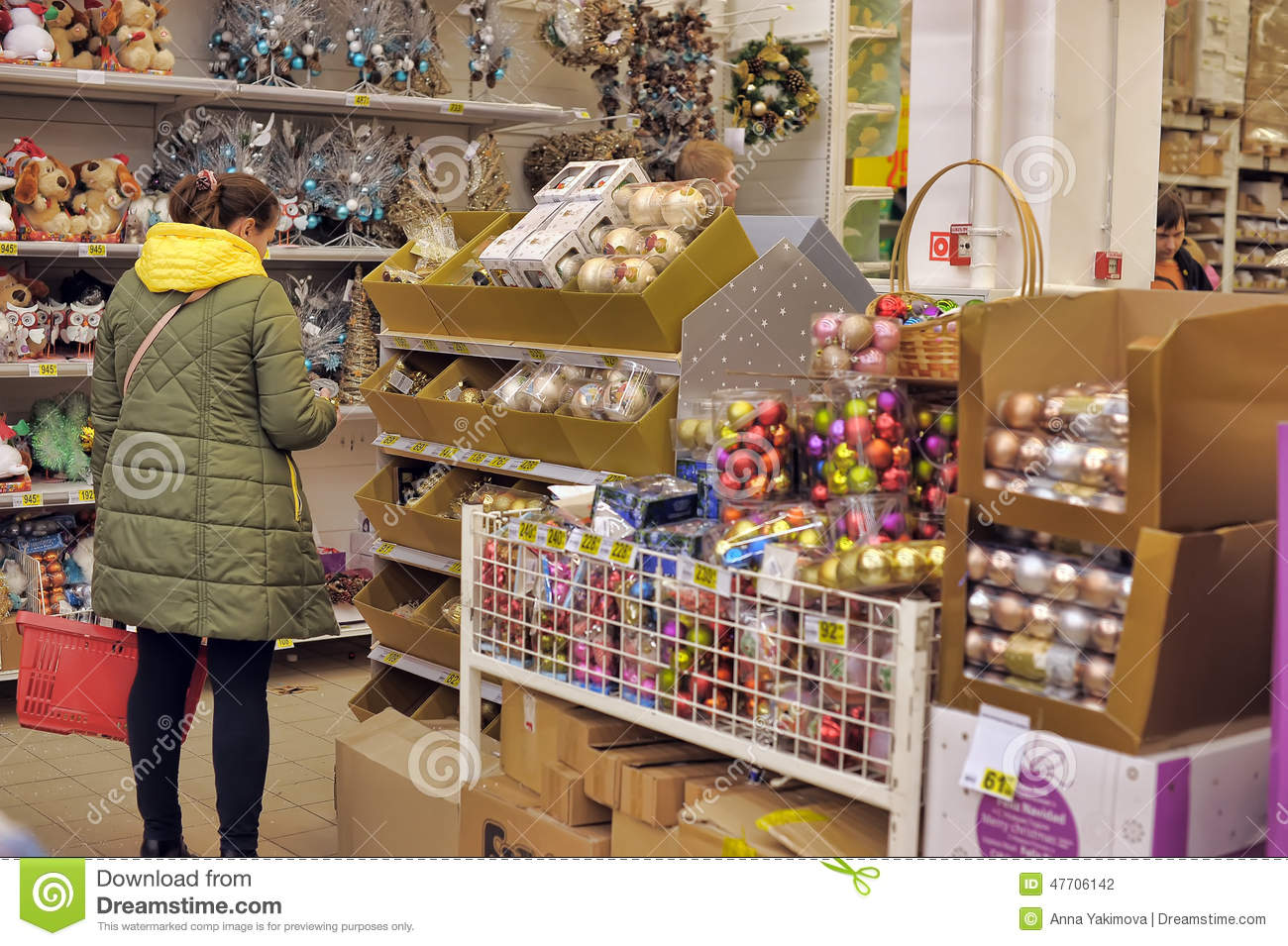 Best People In The Store To Buy Christmas Decorations Editorial This Month