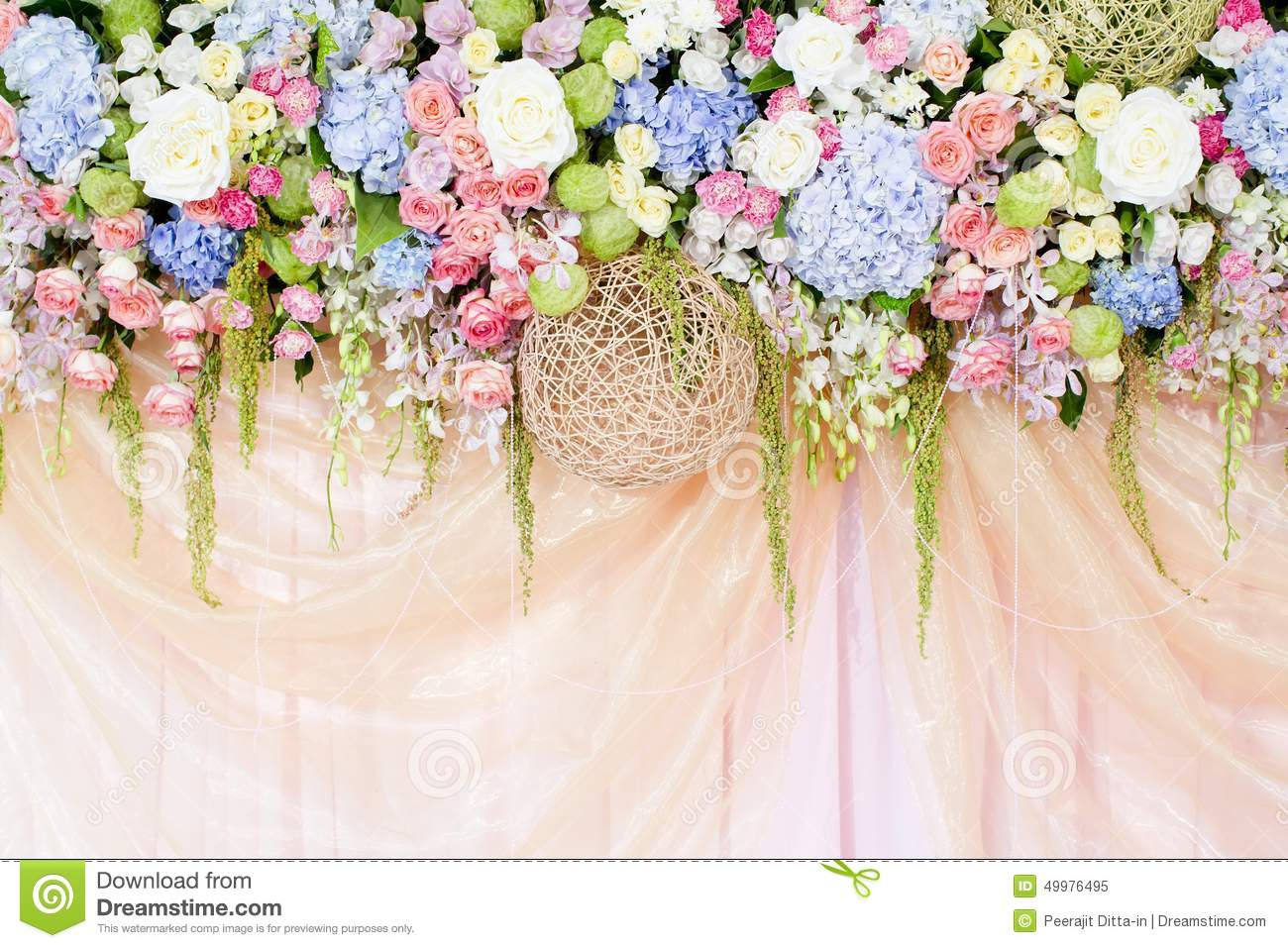 Best Wedding Flowers Background Stock Photo Image 49976495 This Month