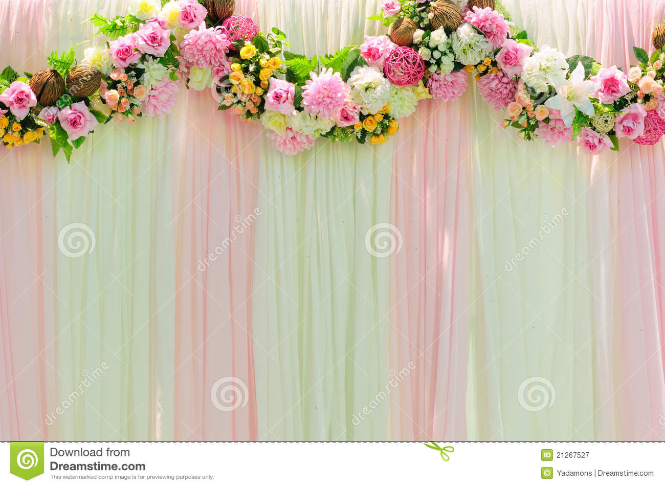 Best Wide Scene Wedding Background Stock Image Image Of Rose This Month