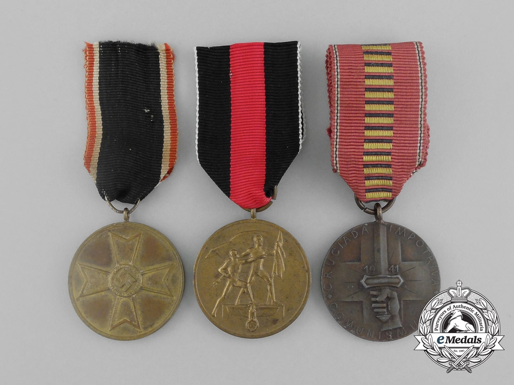 Best Three Third R**Ch German Medals Awards And Decorations This Month