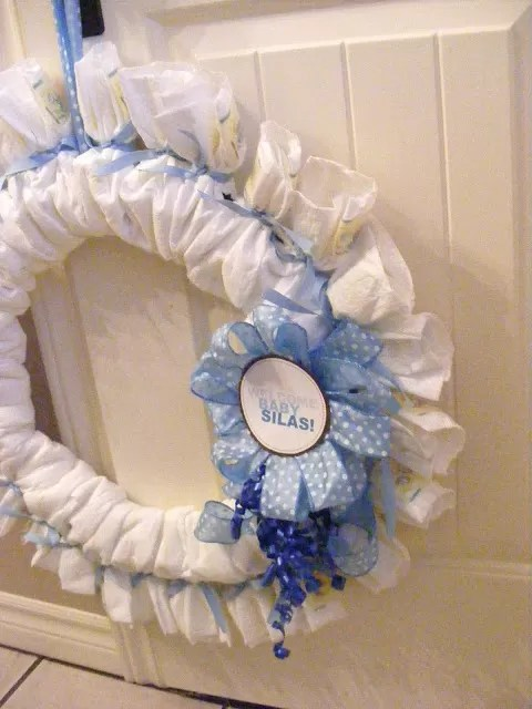 Best How To Make A Diaper Wreath With Instructions 30 Ways This Month