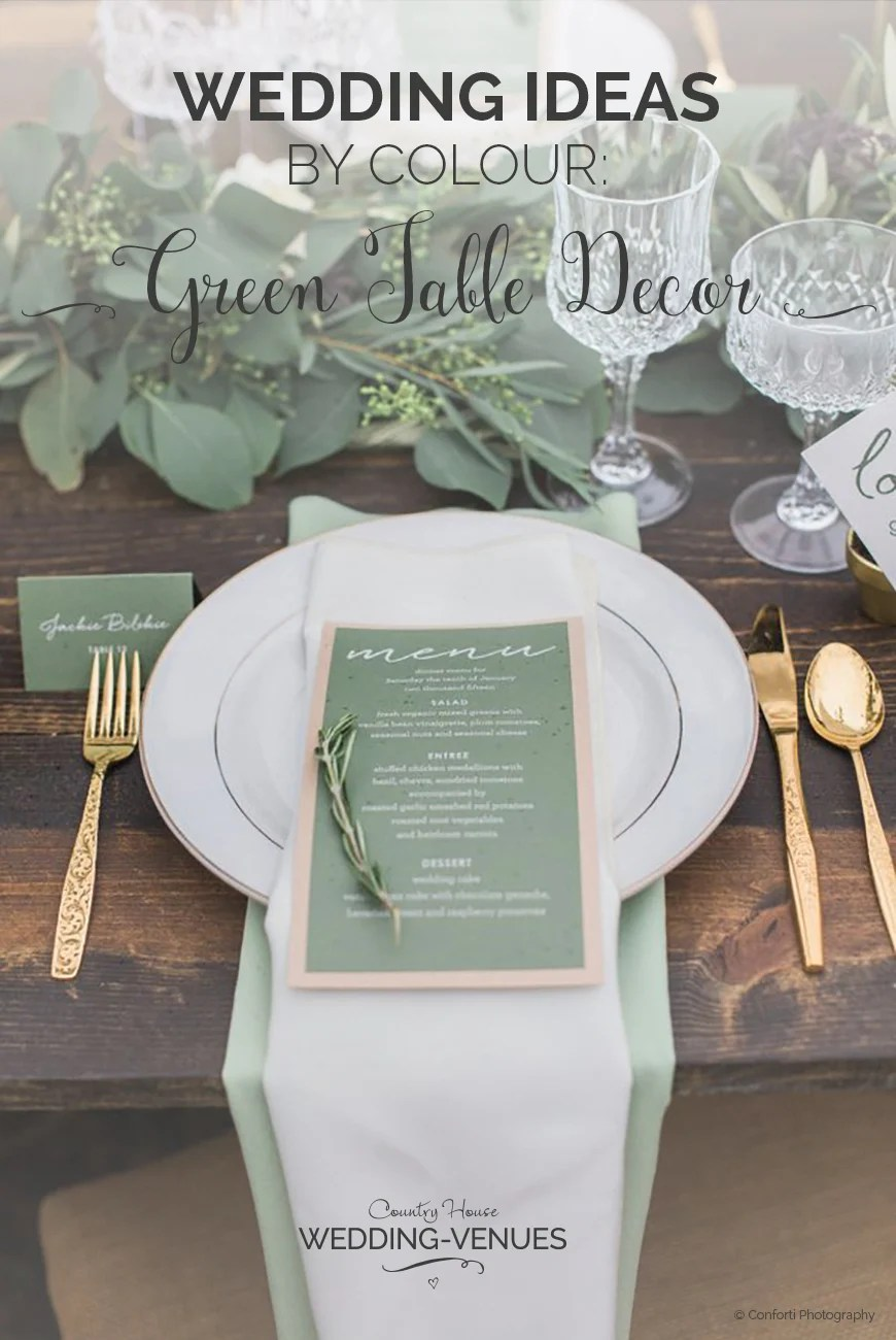 Best Green Wedding Table Decorations Wedding Ideas By Colour This Month