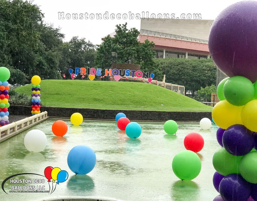 Best Pride Houston Balloon Decor 1 Houston Balloon Decorations This Month