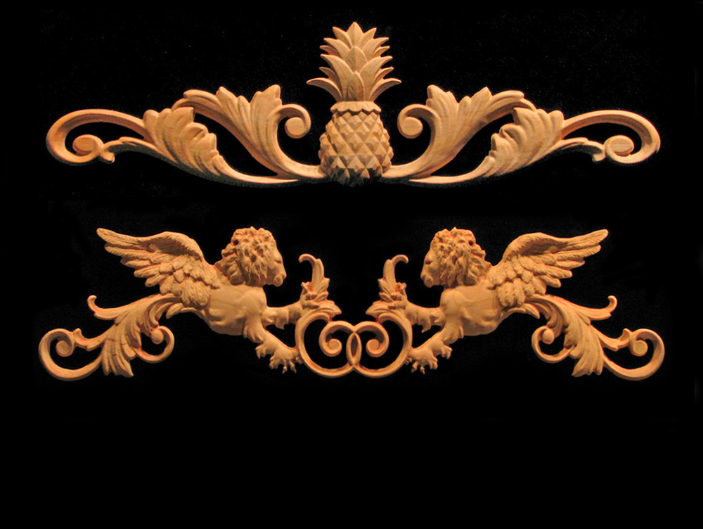 Best Carved Wood Trim And Decorative Accents Heartwood Carving This Month