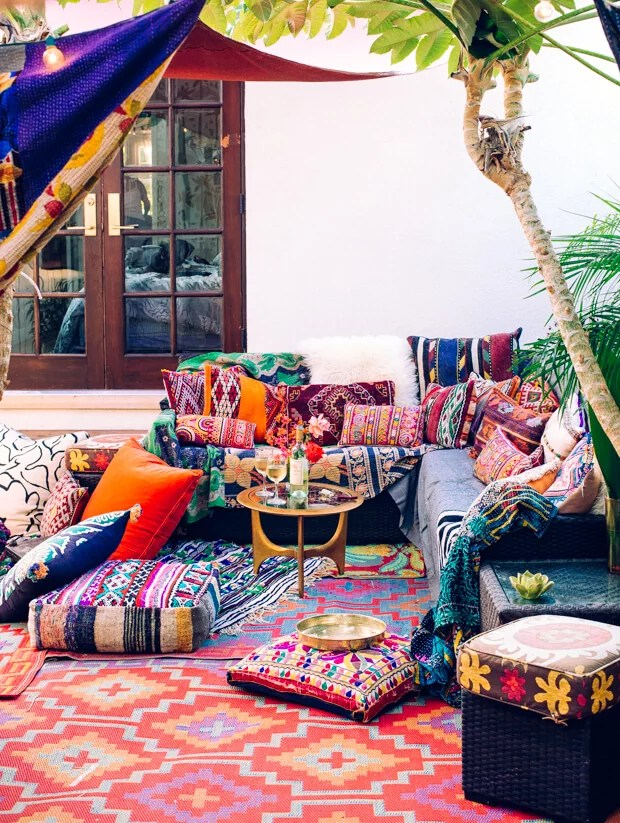 Best How To Create Your Own Perfect Boho Outdoor Styled Patio This Month
