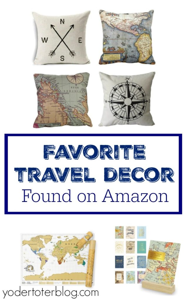 Best My Favorite Travel Decor From Amazon Yodertoterblog This Month