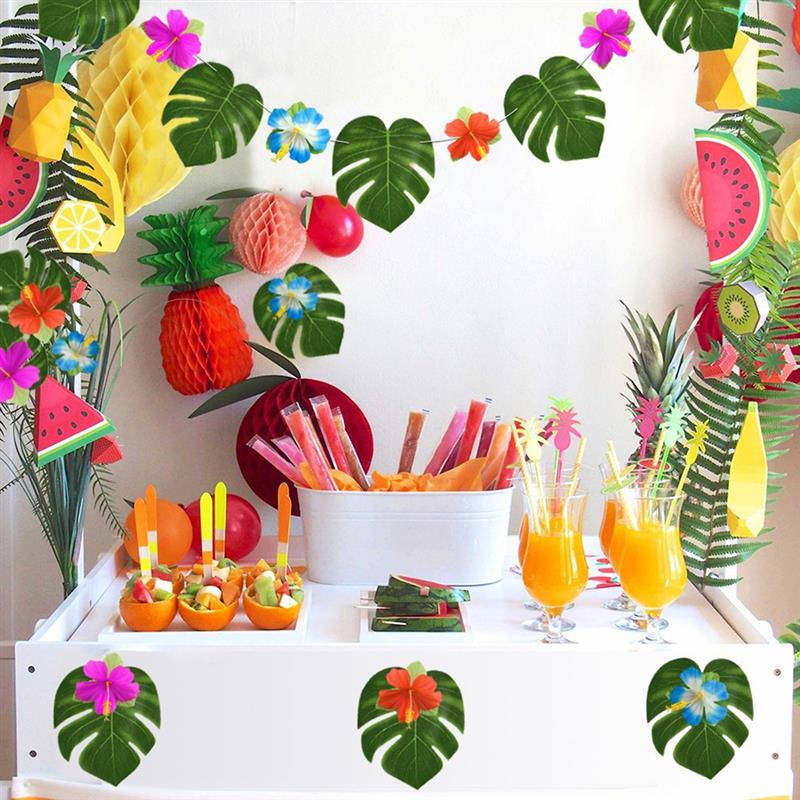 Best Aliexpress Com Buy 60Pcs Quality Artificial Tropical This Month