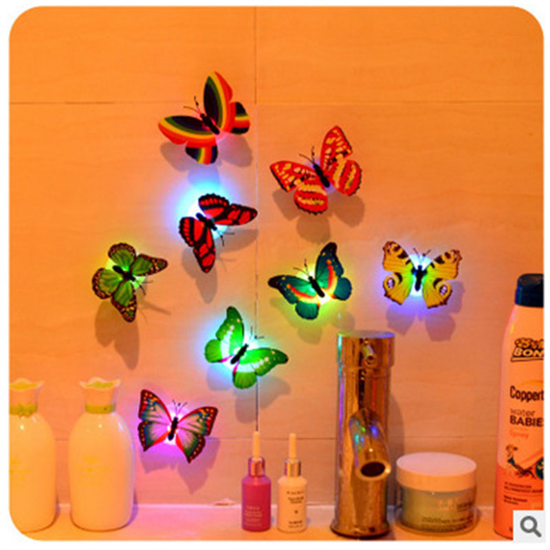 Best Creative Butterfly Night Light Ornaments Eco Friendly This Month