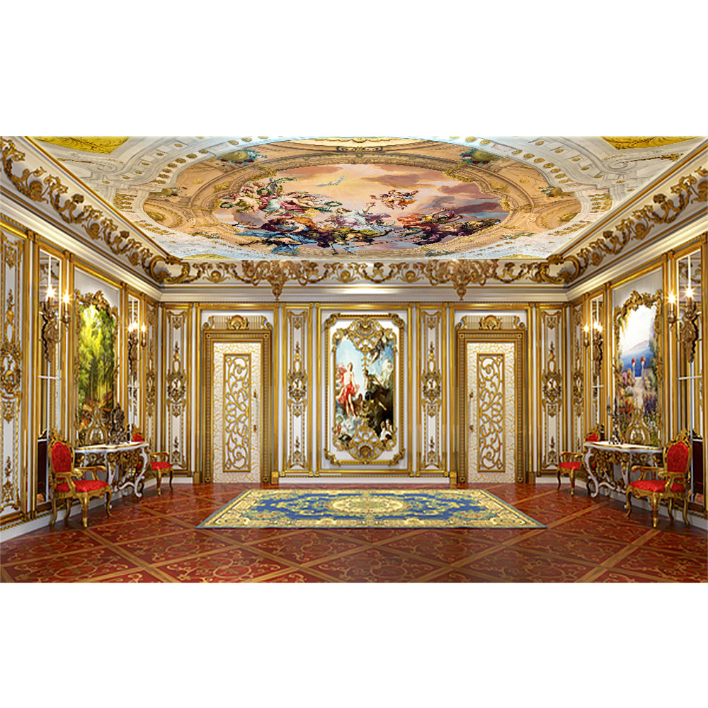 Best European Luxury 3D Angel Painting Ceiling Wallpaper Wall This Month