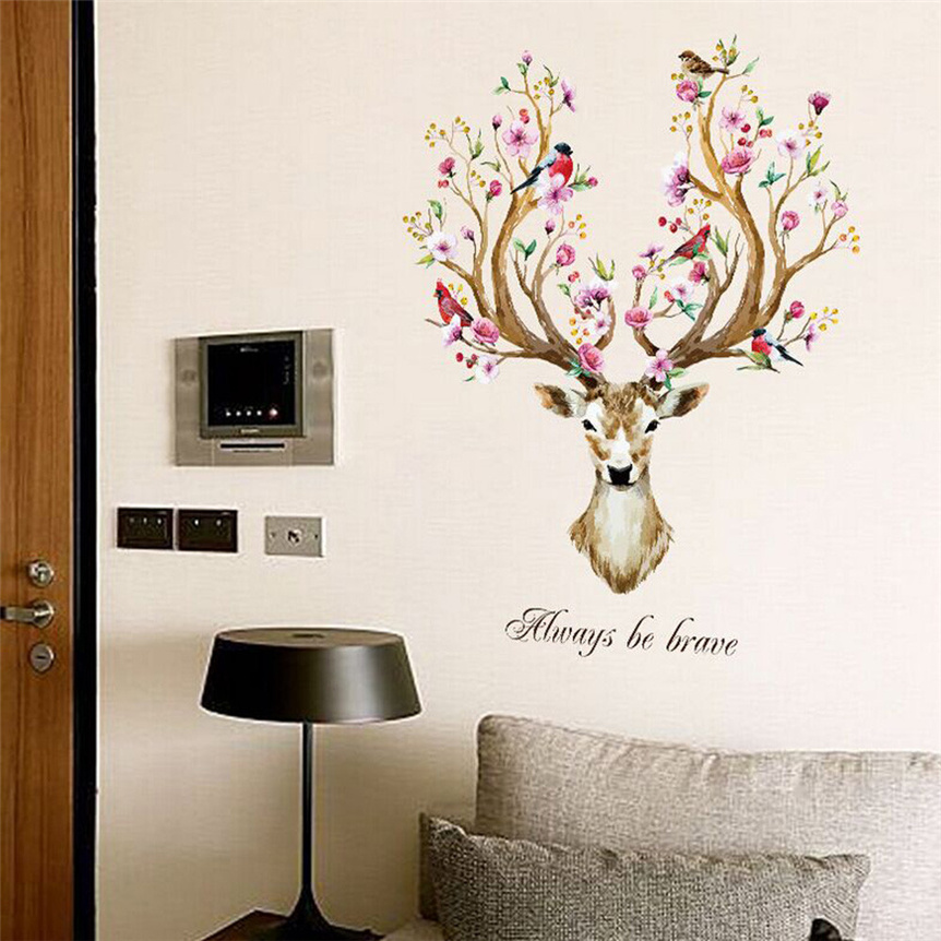 Best Aliexpress Com Buy Lovely Pets New Sika Deer Stickers This Month