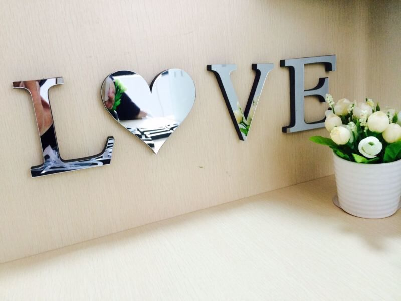 Best 10Cmx8Cmx1 2Cm Thick Wedding Love Letters Home Decoration This Month