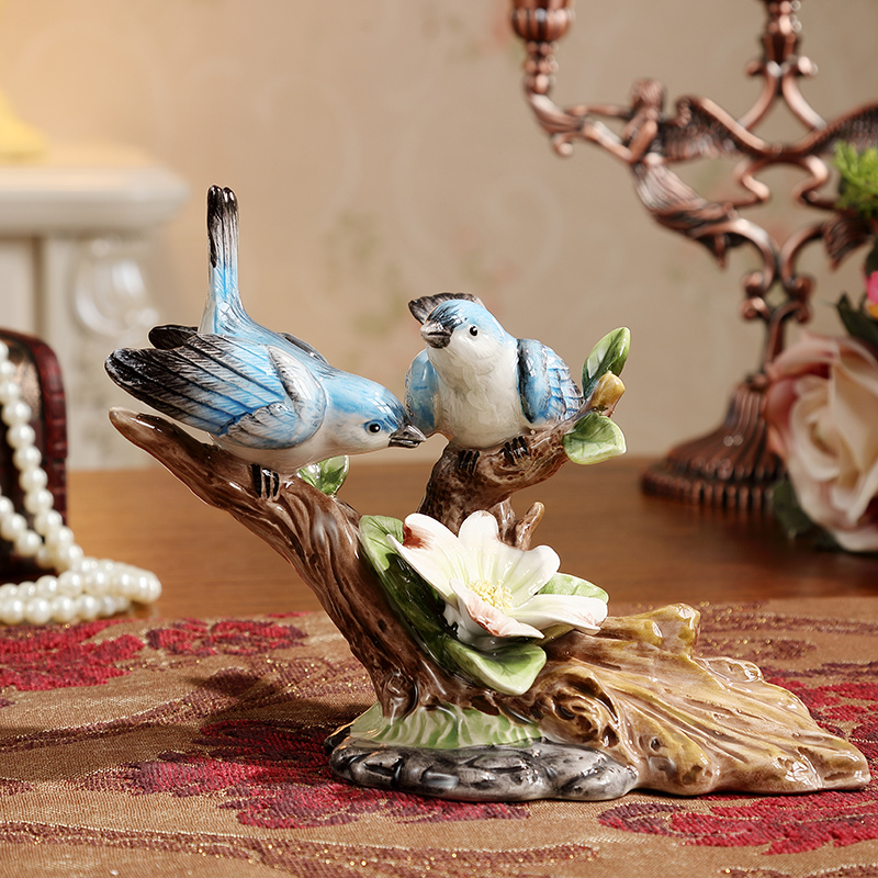 Best Creative Handmade Ceramic Bird Figurine Decorative Home This Month