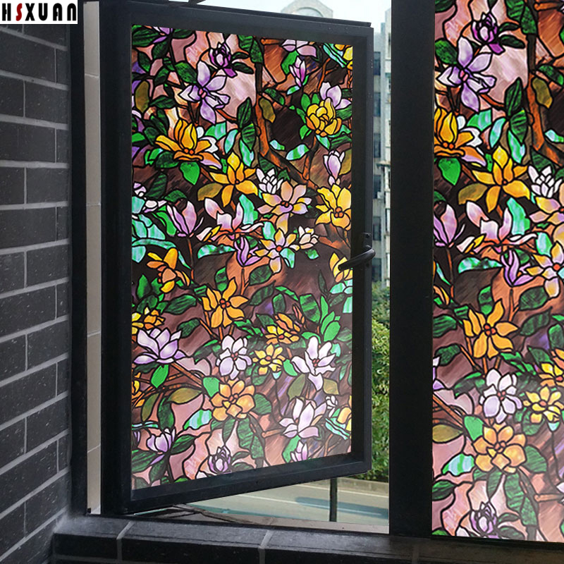 Best Decal Decorative Window Films 50X100Cm 19 7X39 3In Frosted This Month