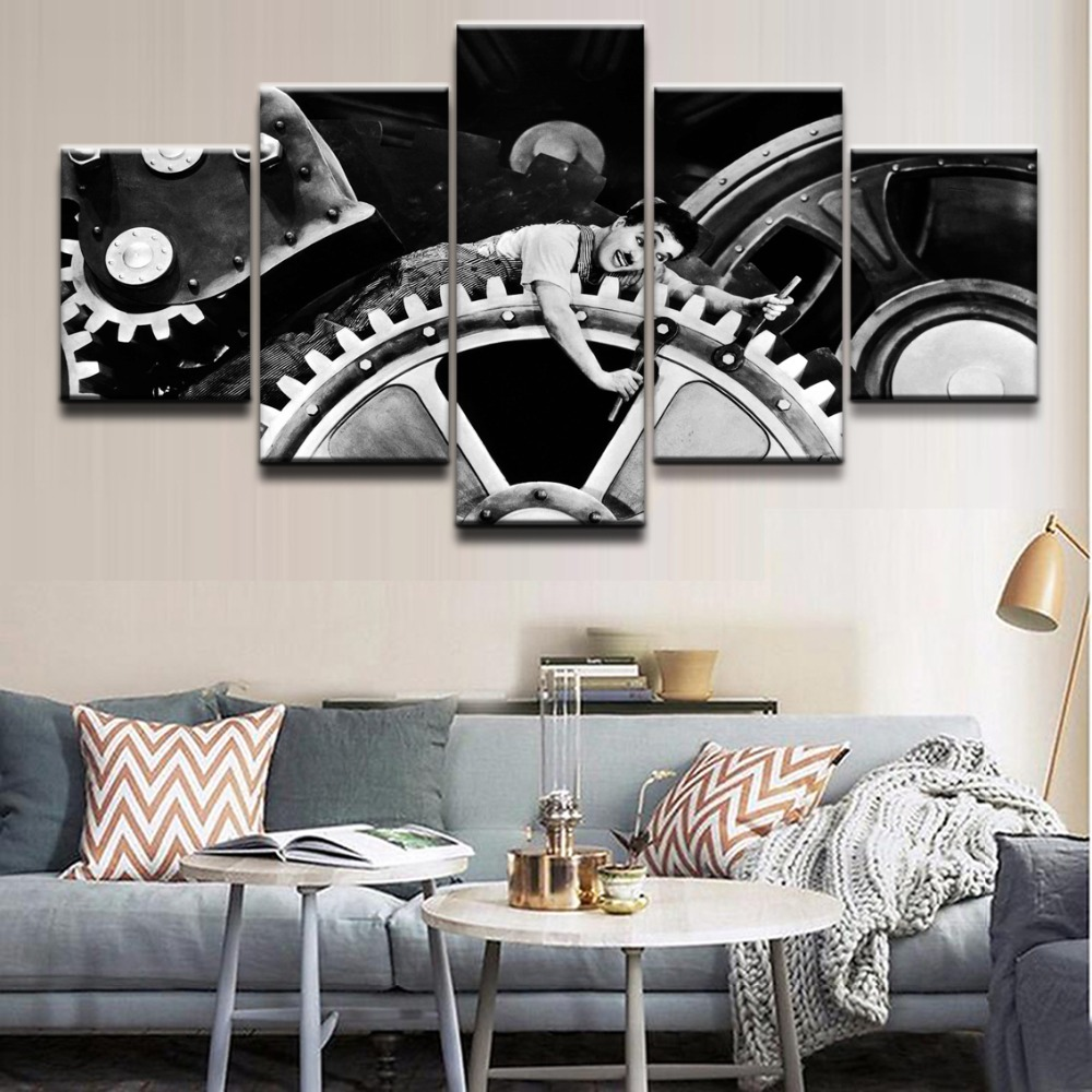 Best Home Decor Canvas Hd Print Picture Wall Art 5 Pieces Movie This Month