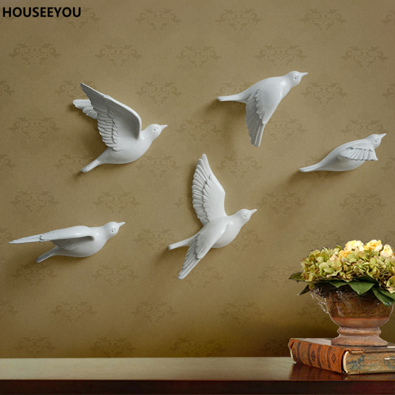 Best 3D Resin Peace Dove Bird Mural Home Decor Hanging This Month