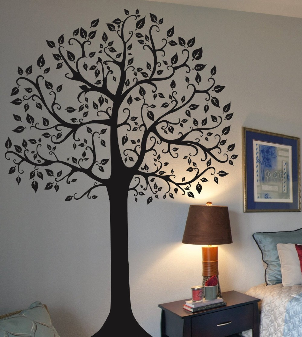 Best Large Family Tree Wall Sticker Fashion Home Decoration This Month