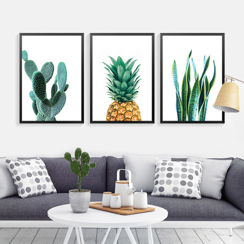 Best Cactus Wall Art Canvas Painting Home Decor Wall Paintings This Month
