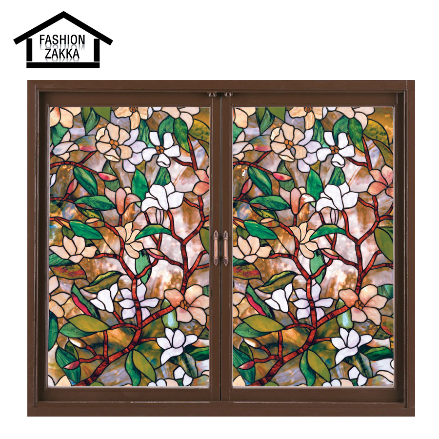 Best European Church Style 45 100 Cm Magnolia Stained Glass This Month