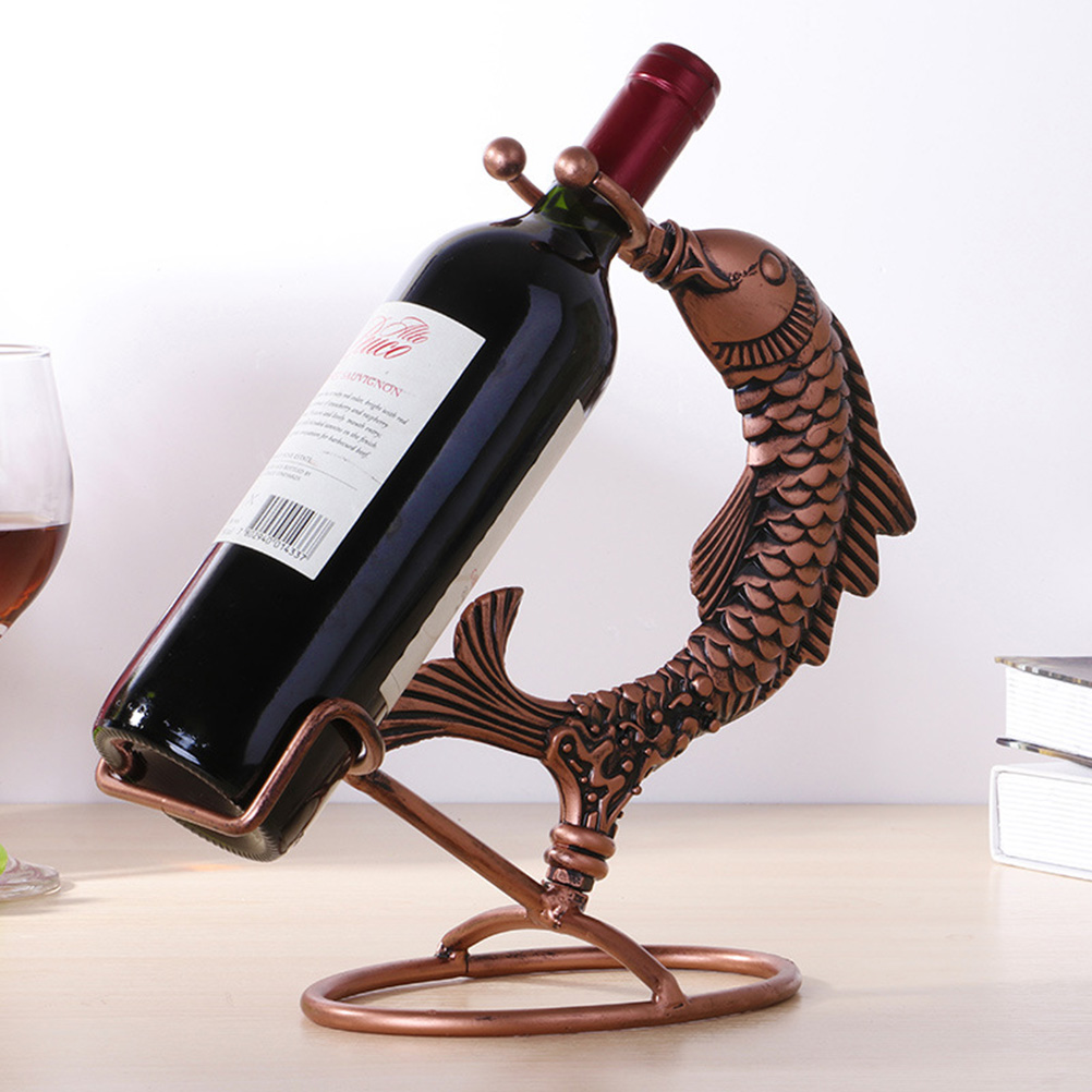Best Wine Rack Wrought Iron Decorative Creative Hanging Wine This Month
