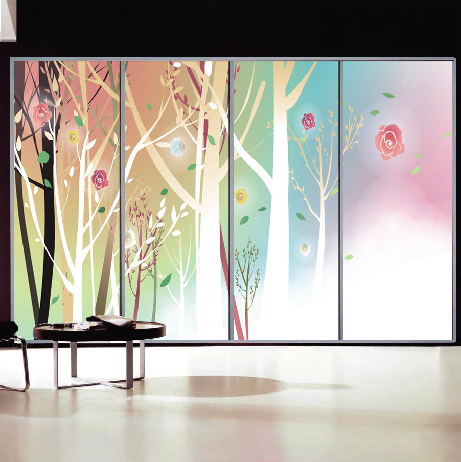 Best Decorative Stained Glass Window Stickers Opaque Self This Month