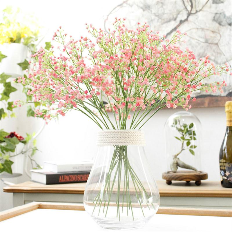 Best Artificial Fake Babys Breath Gypsophila Silk Flowers This Month