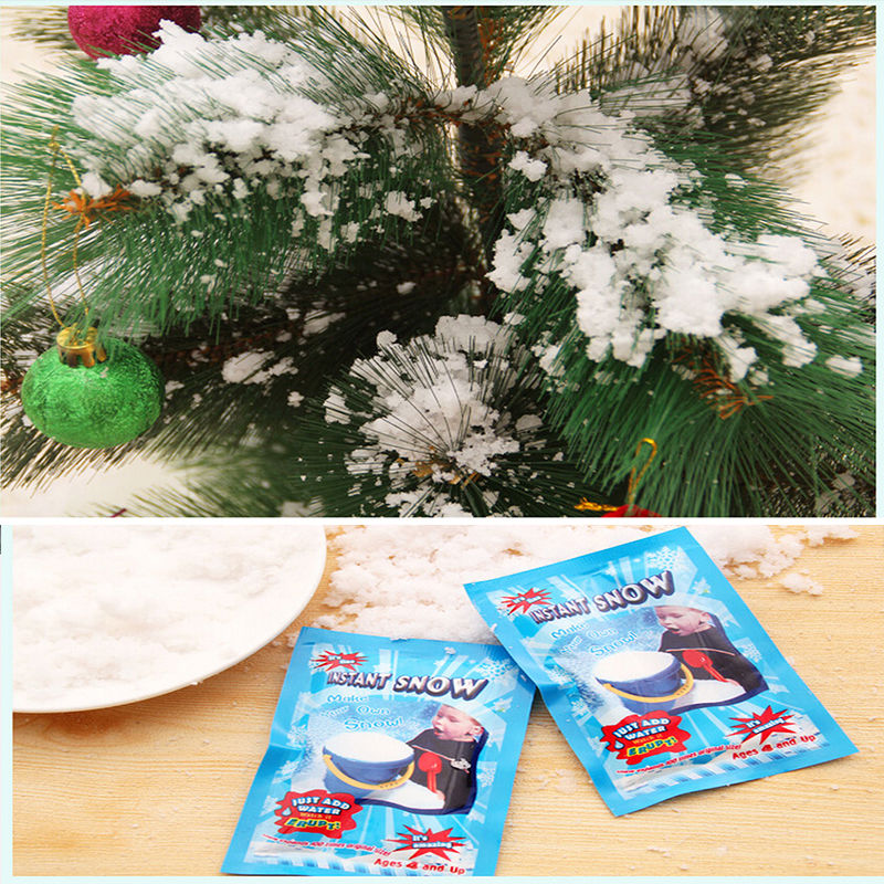 Best 20 Bags Set Instant Snow Artificial Magic Snow Fake This Month