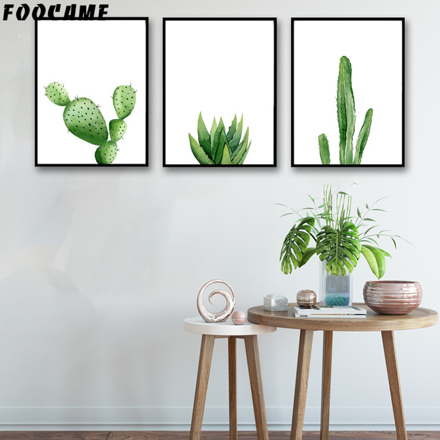 Best Foocame Plants Cactus Watercolor Aloe Vera Posters And This Month