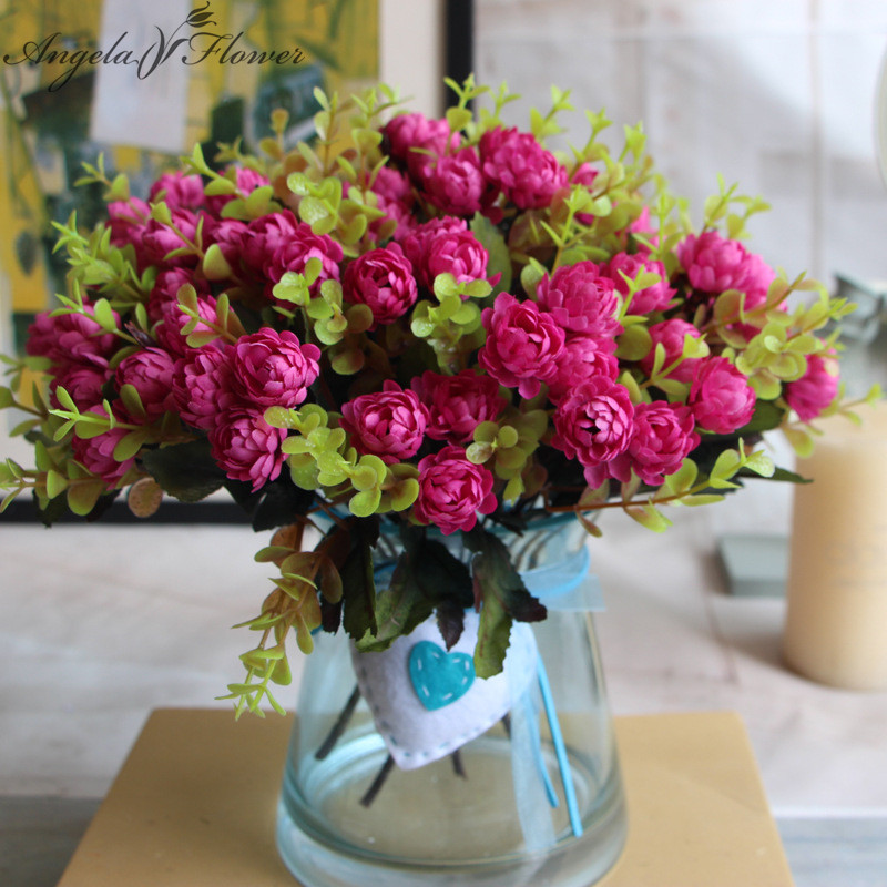 Best Small Daisy Decorative Artificial Set Flowers Fake Flowers This Month