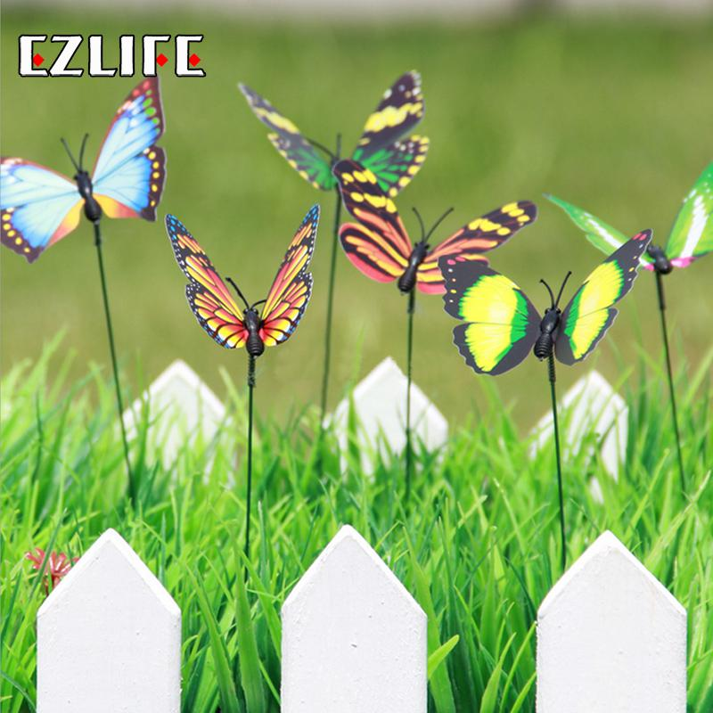 Best 24Pcs Set Garden Decor Simulation Butterfly Refrigerator This Month